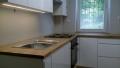 kuchnia z blatami drewnianymi warszawa